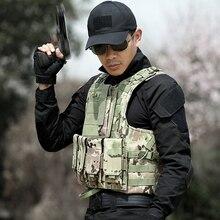 Тактический жилет мужские военные tactico жилет поле битвы Airsoft Молл жилет штурма плиты Перевозчик мужчина армии CS жилет