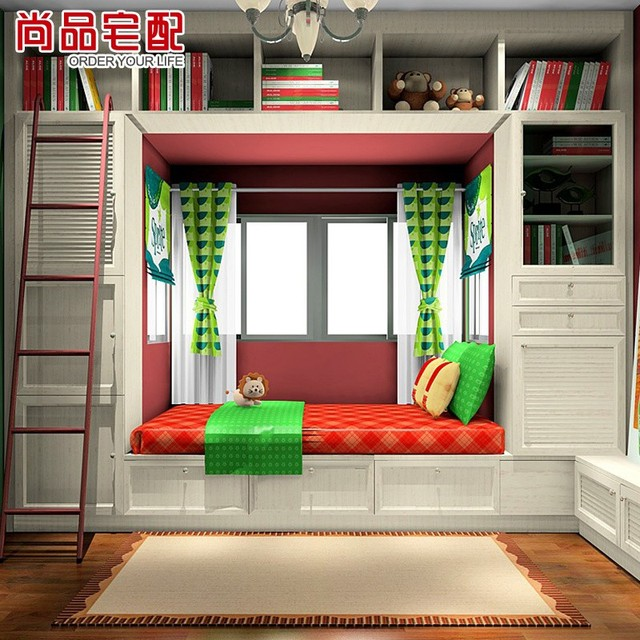 Great Delivery Whole House And Bookcases Custom Furniture Teenagers Study  Childrenu0027s Room 1 Room 2 Beds With