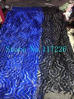 Hot selling JRB 12704 african sequins lace fabric sequins fabric embroidered tulle mesh lace fabric