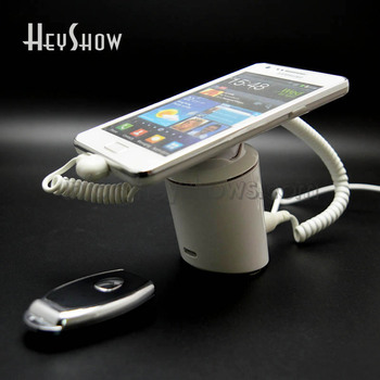 5pcs/lot Chargable Mobile Smartphone Security Anti Theft Display Stand Cellphone Burglar Alarm System Holder For Retail Shop