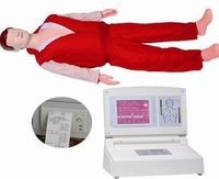 10% off FACTORY OFFER Cpr680 computer big screen computer lcd medical first aid Training manikin