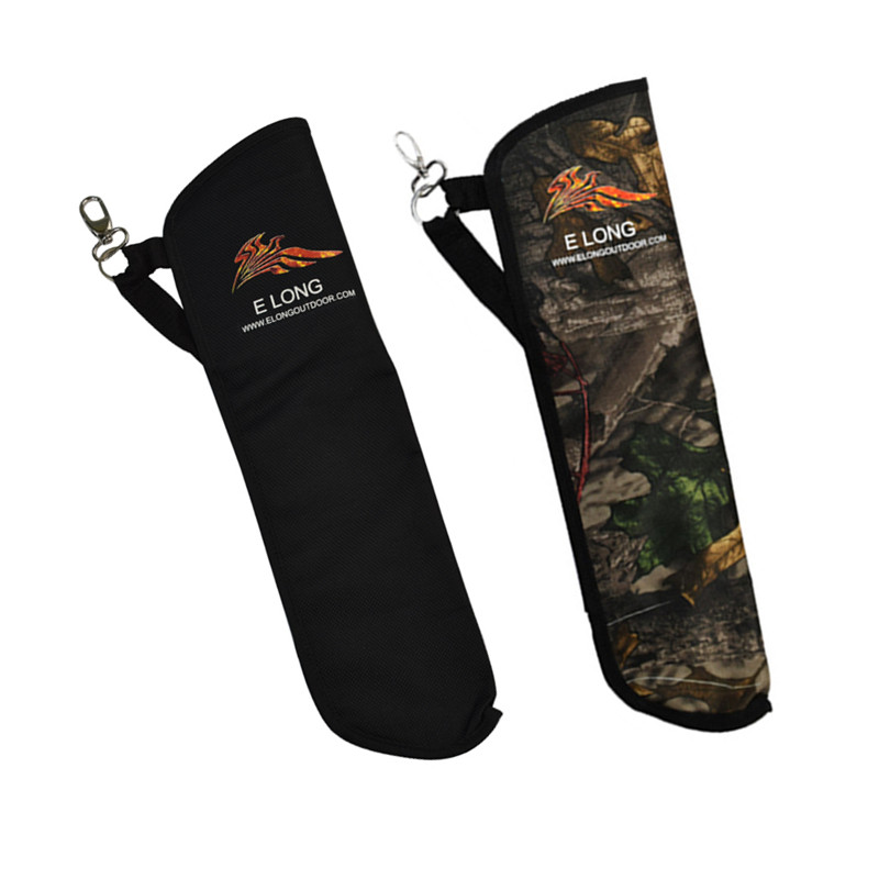Arrow Quiver Side Bag Archery Bow Arrow Holder- Black/Camo Color sa212 saddle bag motorcycle side bag helmet bag free shippingkorea japan e ems