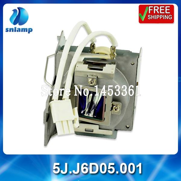 100% original projector lamp bulb 5J.J6D05.001 for MS502 MX503 цена и фото