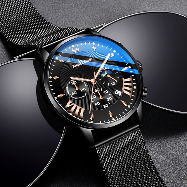 KEEP IN TOUCH relojes para Hombre, de cuarzo, informal, resistente al agua, deportivo, con fecha, Masculino