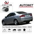 JIAYITIAN caméra de vue arrière pour Honda Accord 7 2002 2003 2004 2005 2006 2007 CCD Vision nocturne caméra de recul plaque d'immatriculation caméra|Véhicule Caméra| |  -