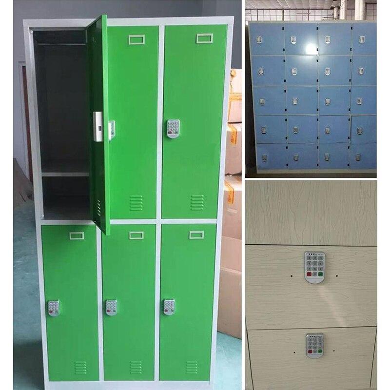 Купить с кэшбэком Smart password lock storage cabinets electronic lock drawer file cabinet electromagnetic lock the wardrobe door lock