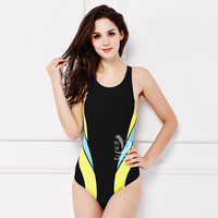 Job 2016 One Piece Swimsuit Arena Girls Competitive Swimwear Women Professional Suit Ladies Racing Suit Training
