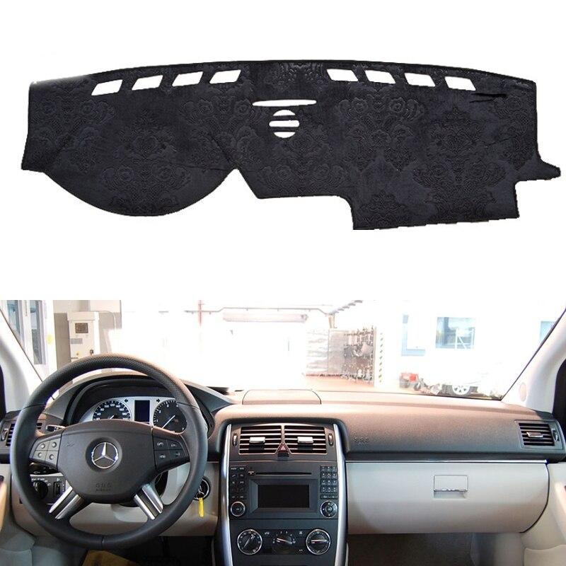 For Mercedes-Benz B-Class W245 B160 B180 B200 2006-2011 Flannel Dashmats Dashboard Covers Dash Pads Car Mat Carpet Custom