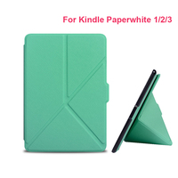 Fashion For Amazon Kindle Paperwhite 1 2 3 Case Ultra Slim Premium Protective Shell Leather Cover