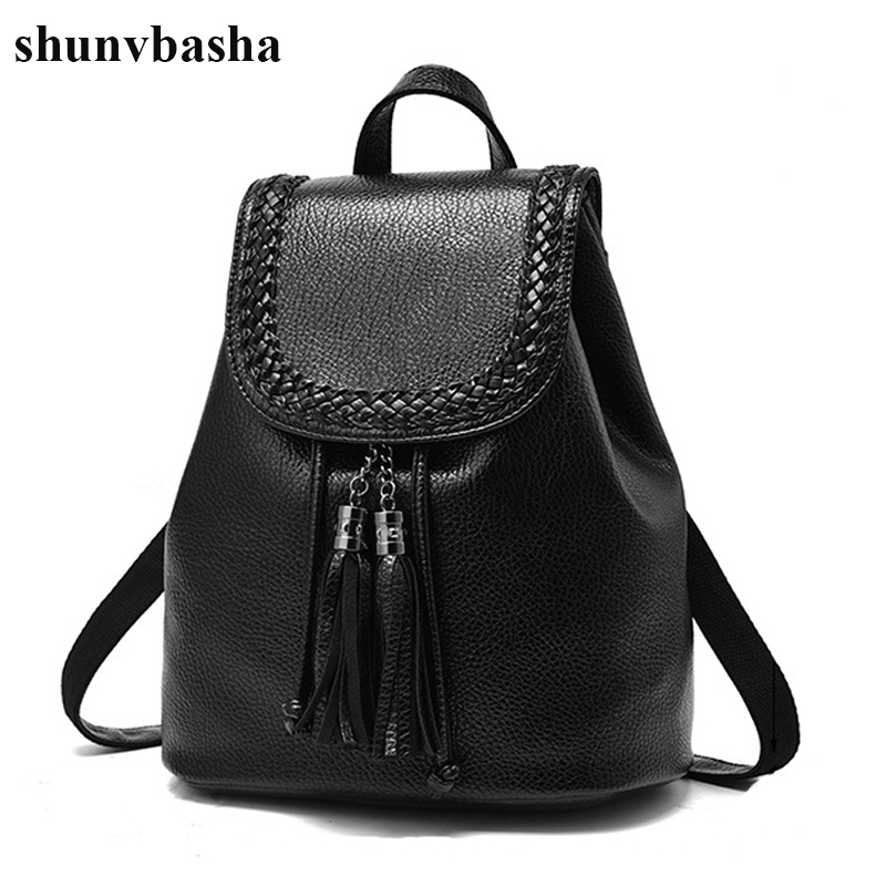 Luxury Brand PU Leather Backpacks Women Top Quality School Bags For Teenage Girls New Designer School Portfolio Backpack Female