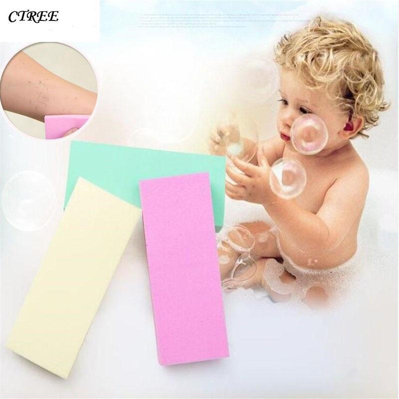 CTREE 1Pc Super Rub Mud Artifact Sponge Soft Cotton Baby Bath Scrubbing Tools Bathroom Supplies decontamination Exfoliating C597