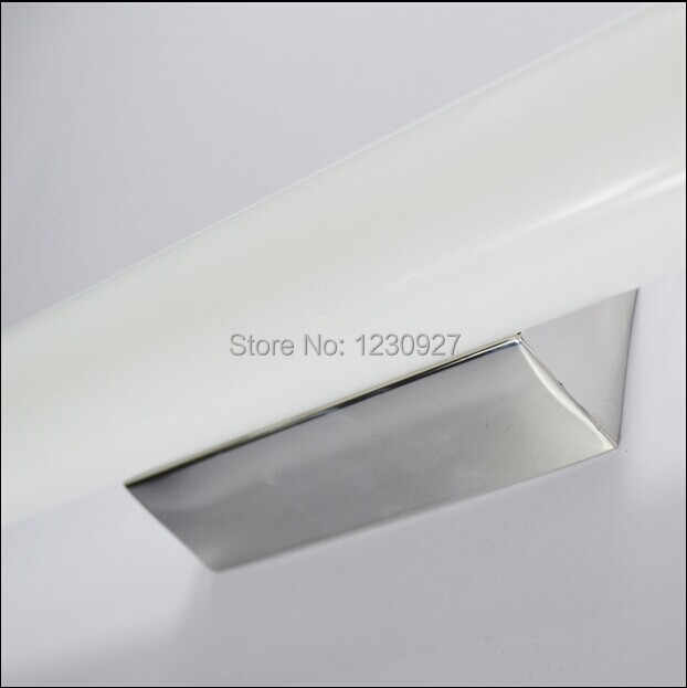 6W 42CM long modern led bathroom mirror head light  anti-fog makeup lamp stainless base waterproof  Acrylic tube wall lamp