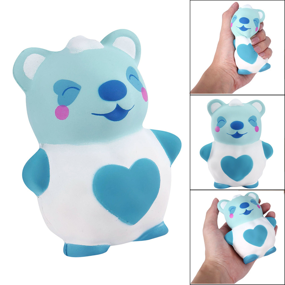 New 2018 Slow Rising Galaxy Bear Squishies Squeeze Kids Toy Stress Reliever Aid Mobile Stress Relief Toy Funny Kids Gift W718