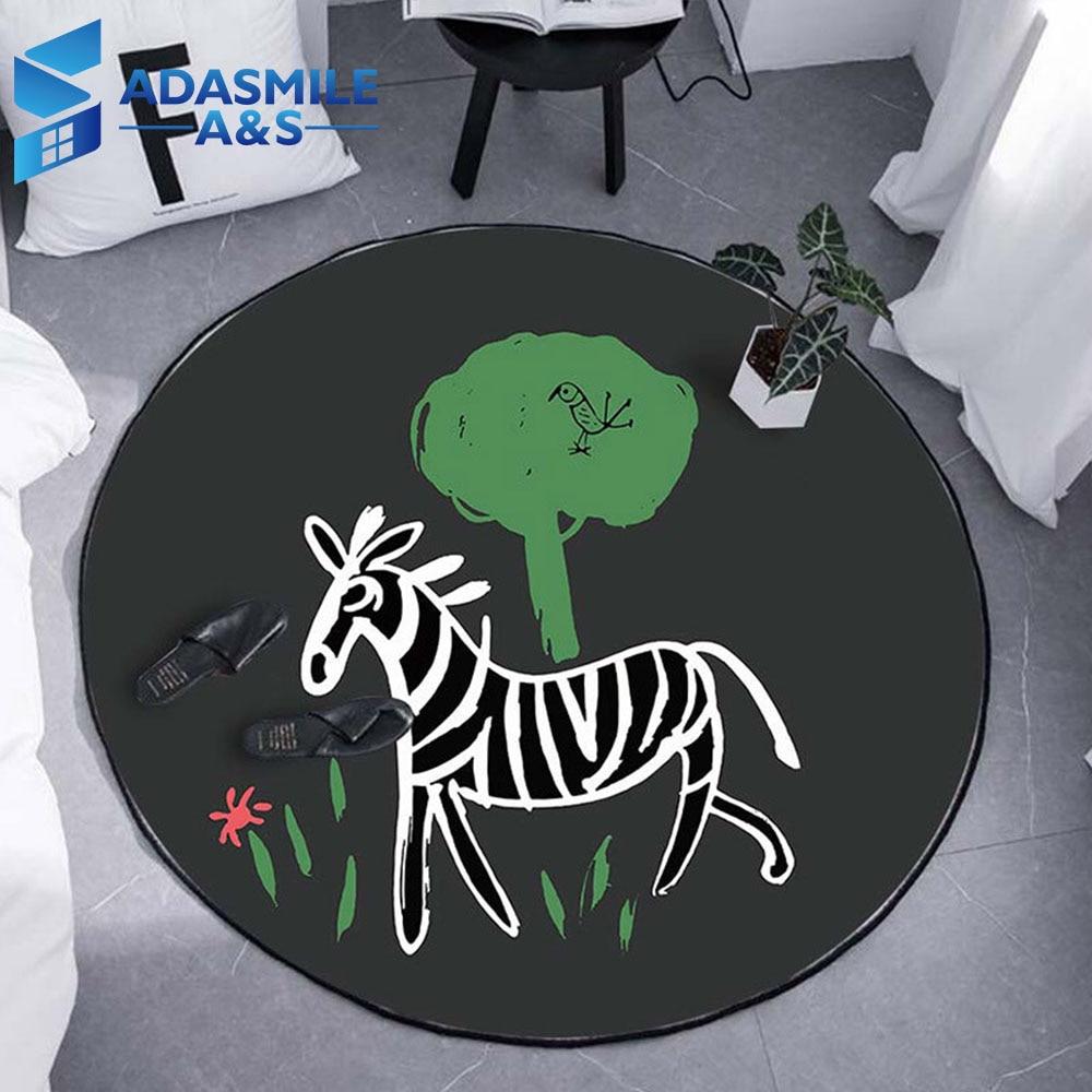 Area Rugs Tropical Fish Anti-slip Home Bedroom Carpet Floor Decor Kids Play Mat