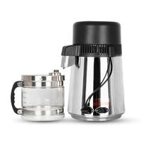 Destilador de agua doméstico 4L máquina de agua destilada purificador de destilación filtro de agua de laboratorio Dental de acero inoxidable