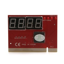 New For PC 4 Digit Diagnostic Analyzer Card Motherboard Tester High Quality C26