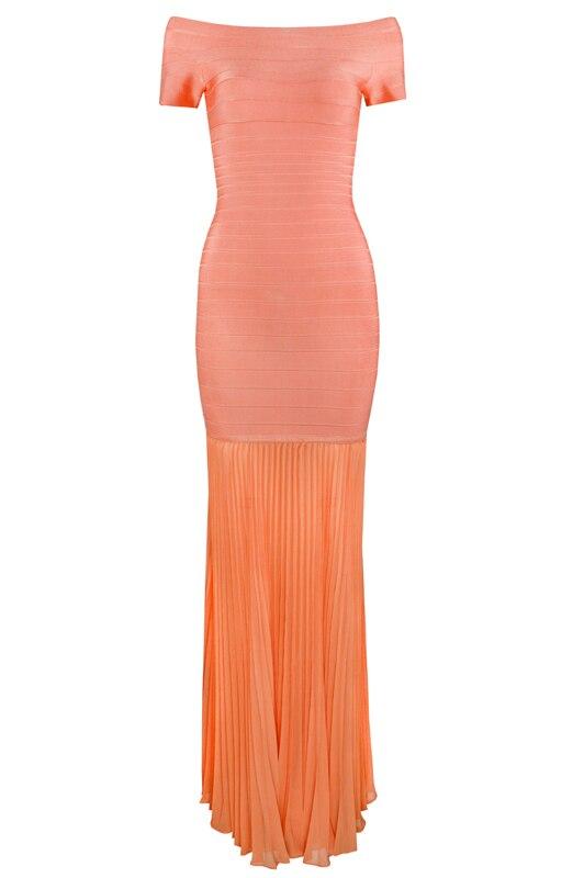 Manches orange kaki Rayonne Mode Couleur Femmes rouge Longue Courtes Cou Sexy Top De Noir Slash À Dames Bandage Robe Qualité 4 Designer Partie AY1WwAxq4p