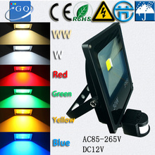 5pc GQ lighting 5pcs/lot  10W 20w 30w 50w 70W 100W 150W 200W  RGB led flood light projector search  85-265V downlights