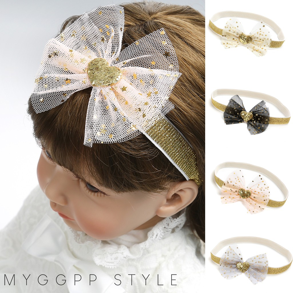 Fashion Cute Beauty Sweet Kids Girl Baby Headband Baby Hair Accessories Toddler Flower Hair Band Maquiagem Profissional Completa
