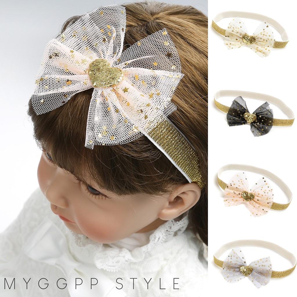 Fashion Cute Beauty Sweet Kids Girl Baby Headband Baby Hair Accessories Toddler Flower Hair Band Maquiagem Profissional Completa