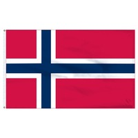 Johnin 90x150cm kongeriket noreg norge nem nenhuma bandeira da noruega