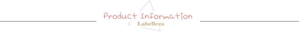 Labelleza producton information