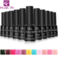 KADS 6pcs Set UV Nail Gel Polish Long Lasting No Base No Top Coat Nail Gel