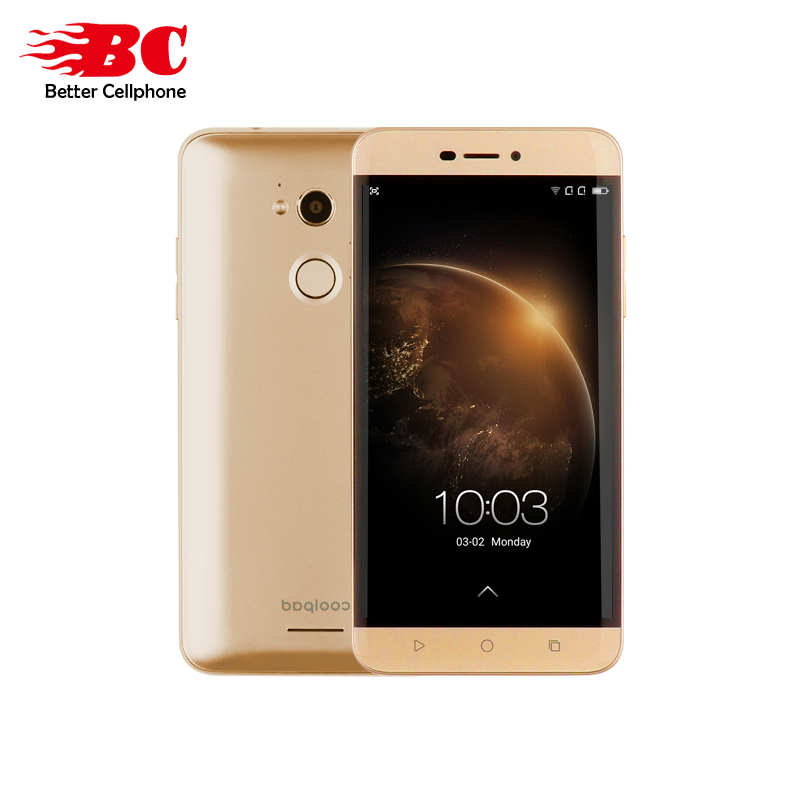 "Original Coolpad R108 5.5""FHD Octa-Core 1.4GHz Adreno 405 3G+32GB 5MP+13MP Daul SIM Android5.1 Fingerprint 1280*720 Mobile Phone"