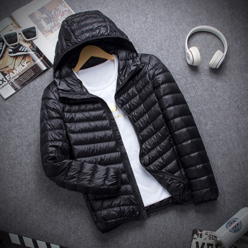 2017 Winter Outdoor Sports Hooded Down Coat Mens Warm jaqueta Light Weight Jacket Overcoat Male Windproof Thermal Padded Outwear new 2017 men winter black jacket parka warm coat with hood mens cotton padded jackets coats jaqueta masculina plus size nswt015