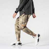 Camouflage Baggy Cargo Pants Fashion Streetwear Joggers Men's Trousers Hip Hop Military Mens Cargo Pants With Many Pockets