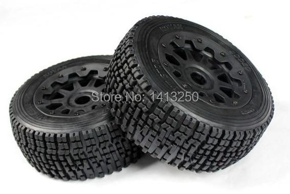 Rear tire for 1/5 hpi baja 5sc parts front knobby tire set for baja 5t 5sc 2pc 95162