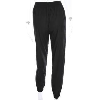 Weekeep Women High Waist Patchwork Pants Black Pencil Pants Streetwear Cargo Pants Loose Jogger Trousers Women 2019 Sweatpants