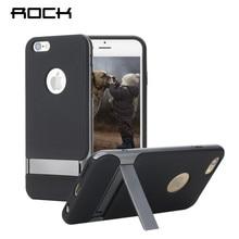 Rock Royce Серия S телефон ca s e для iPhone 6 6S инновационные Kick S tand Телефон Shell телефона Задняя крышка S для 6 Plus 6S Plus