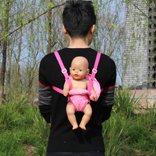 Outdoor Shoulder Bags Fit For 43cm Zapf Dolls Baby 17 Inch Reborn Bobies Accessories
