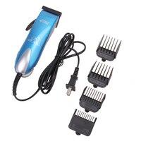 25 Вт Электрический триммер для волос собаки машинка для стрижки животных профессиональный комплект для ухода за шерстью домашних животных ...