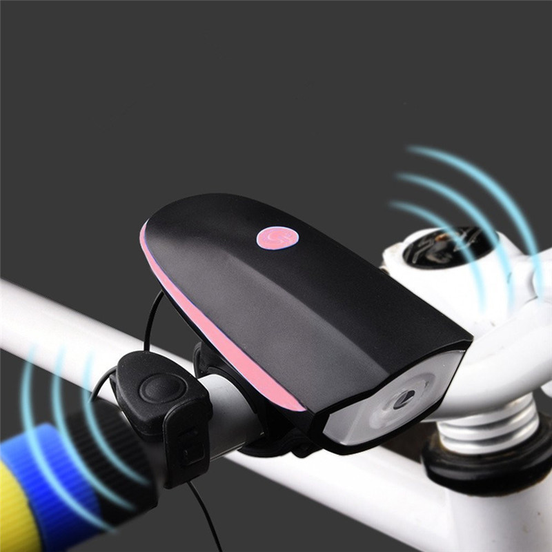 bike speaker usb rechargeable 2mode cycling bicycle light riding horns bell ip44 waterproof safe. Black Bedroom Furniture Sets. Home Design Ideas