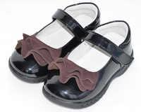 Mädchen shoes zurück zu schule kleinkind shoes schwarz student shoes patent pu breiten fuß sandq baby neue
