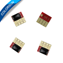 For HP 364 cartridge auto reset chip 4 color for HP Photosmart 5510 5515 6510 B010a B109a B109d B109f B110a B209a B210a printer