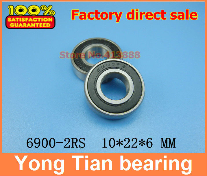 (1pcs) The Rubber sealing cover  Thin wall deep groove ball bearings 6900-2RS 10*22*6 mm gcr15 6326 zz or 6326 2rs 130x280x58mm high precision deep groove ball bearings abec 1 p0