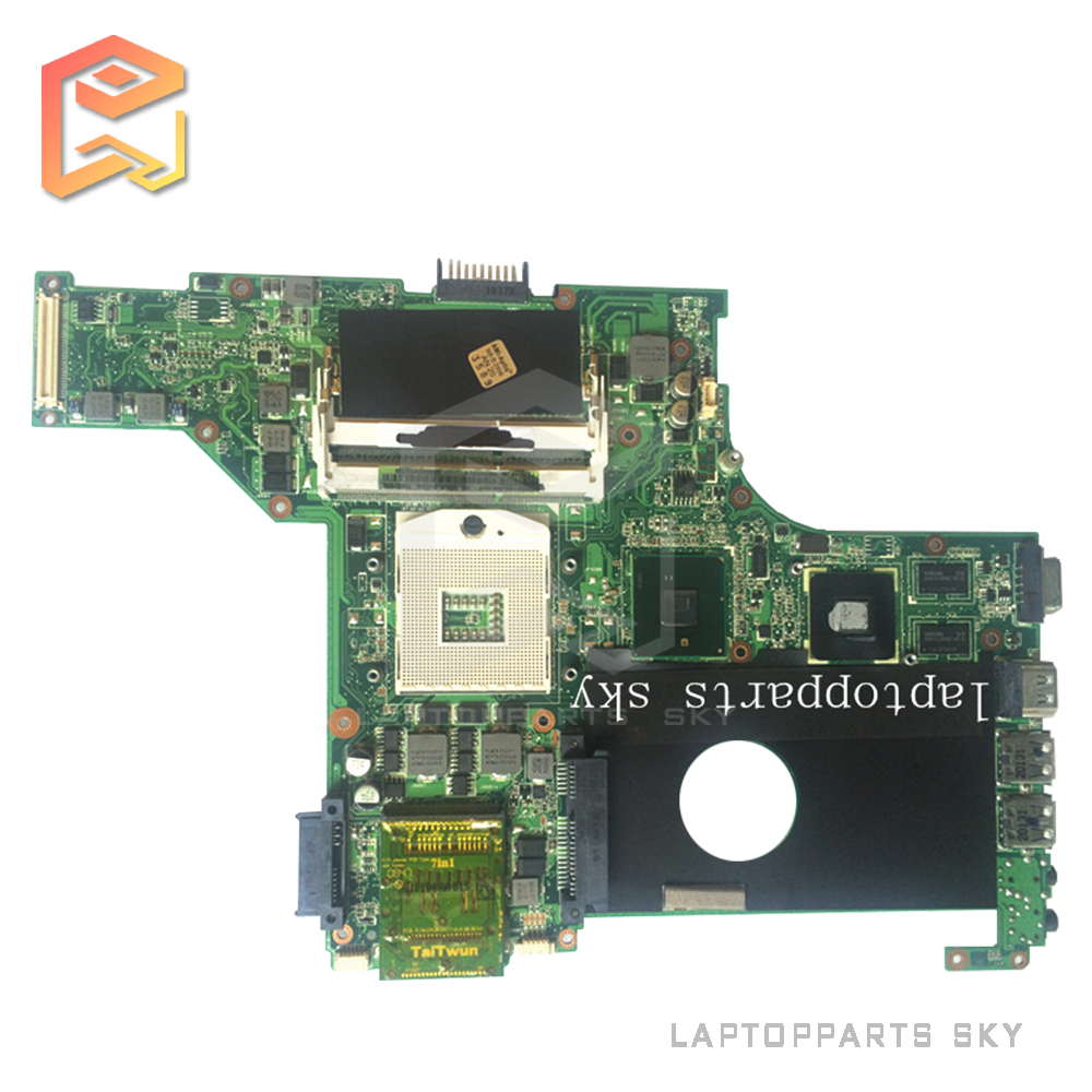 Laptop motherboard for ASUS U30JC REV:2.0 Integrated 60-NXZMB1000 mainboard fully tested with warranty 60 days  for asus ux31a laptop motherboard ux31a2 rev4 1 2 0 mainboard with intel core i7 3537u 4gb fully tested 60 days warranty