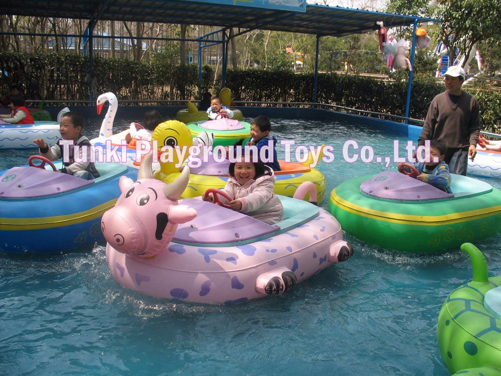 Kiddie Bumper Boat Inflatable Electric Battery Boat