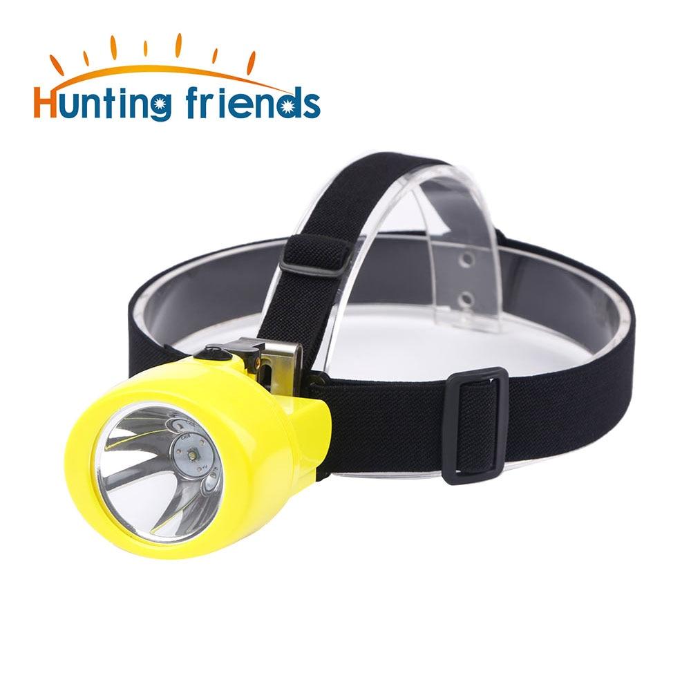 50pcs/lot Mining Headlamp KL3.0LM Waterproof LED Mining Cap Lamp Explosion Rroof Mining Light Rechargeable Flashlight Headlamp