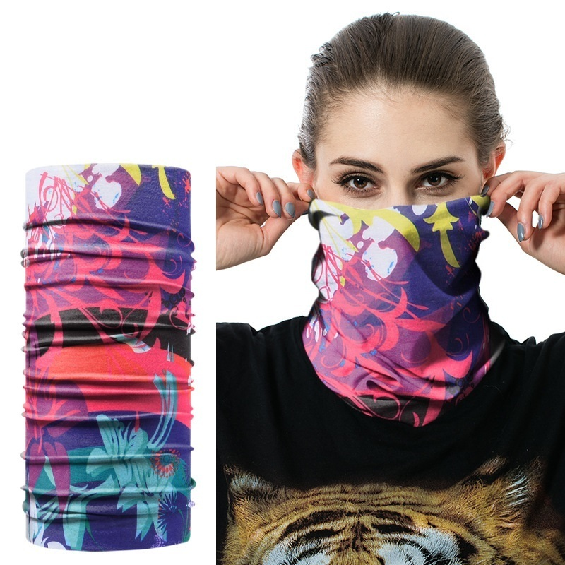 Mixed Batch Multifunctional Headwear Neck Bandana Multi Scarf Tube Mask Cap Large Number Of Style Wholesale/Retail Neck Gaiter