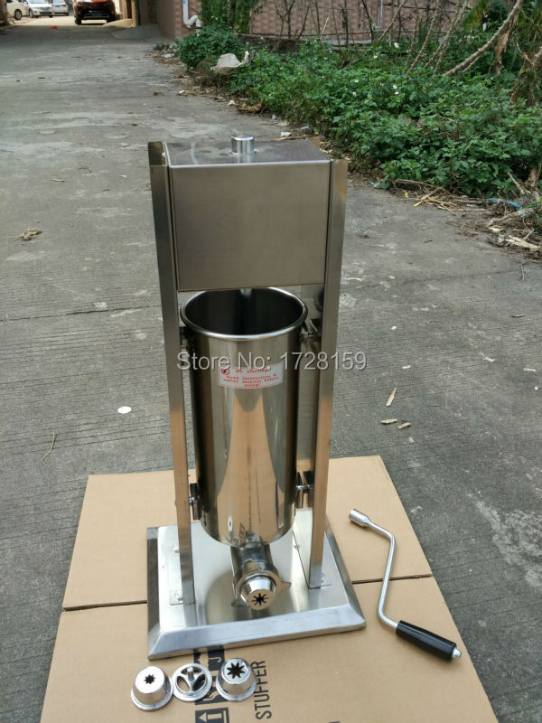 3L Commercial Spanish churrera churro maker filler churros making machine equipment commercial deluxe stainless steel 3l churro maker 6l electric fryer manual spanish churros making machine capacity 3l