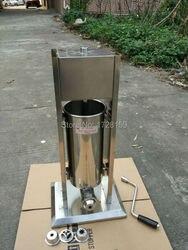 3L handlowych hiszpański churrera churro ekspres wypełniacz churros podejmowania maszyna do w Waflownice od AGD na