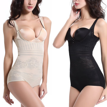 Bodysuit Women Sexy Waist Tummy Shaper Full Body Slimming Corset Butt Lifter Waist Trainer Slimming Briefs Underwear Shapewear Bodysuits