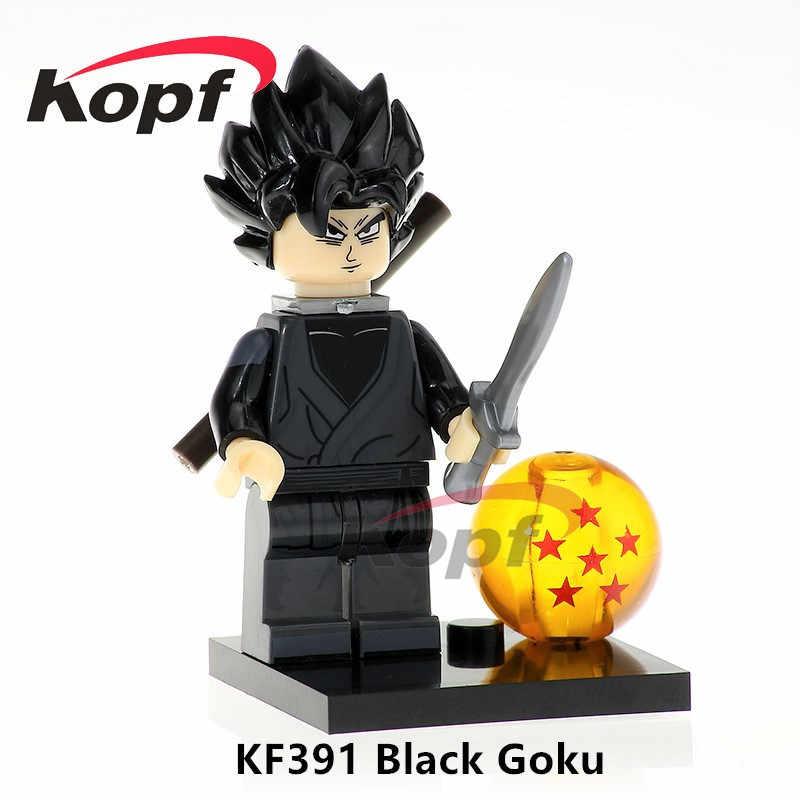 Única Venda De Dragon Ball Z Super Heróis Blocos de Construção Sr Satanás Freiza SSJ3 Goku Figuras Crianças Para Brinquedos Modelo Presente KF8023