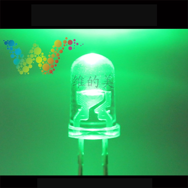 Shenzhen LED Manufacturer Sales Traffic Light Emitting Diodes Green Color Small LED