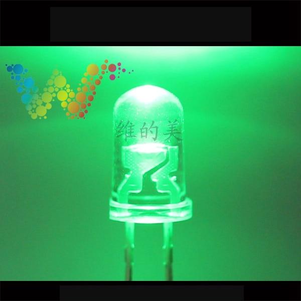 Shenzhen LED Manufacturer Sales Traffic Light Emitting Diodes Green Color Small LED