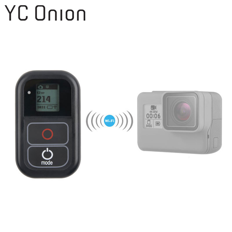 For GoPro WiFi Remote Control With Charge Cable Wrist Strap Waterproof Remoter for Go Pro Hero